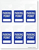 """経済のシートプラスチックハングタグ–、Clean Cut印刷可能Permitタグ、25枚/パック、8.5"""" X 11"""""""