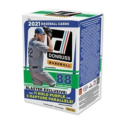 2021 Panini Donruss MLB Baseball BLASTER box (88 cards/bx)