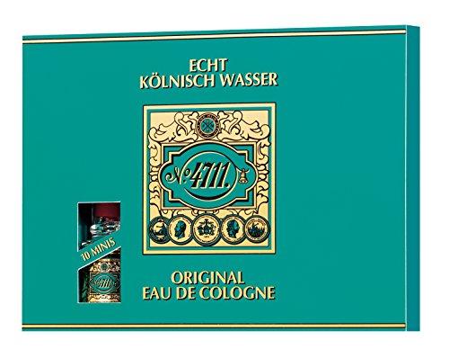 4711 Echt Kölnisch Wasser Set femme / women, 10 x 3 ml Eau de Cologne