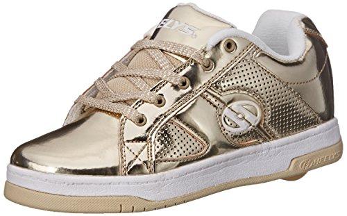 HEELYS Heelys SPLIT Schuh 2015 gold chrome 35