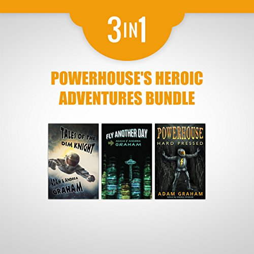 Powerhouse's Heroic Adventures Bundle audiobook cover art