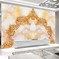 3D壁画HD緑の森の木の風景大きな壁画壁紙家の装飾リビングルームソファ寝室背景壁紙-300x210cm