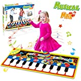 HOMOFY Piano Music Mat, Kids Early Educational Toys for 1 2 3 Year Old Boys Girls Baby Toddler Gift,...