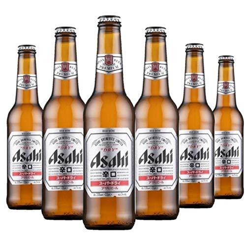 ASAHI BREWERIES Asahi Super Dry 6 x 33 cl das beliebteste Bier aus Japan