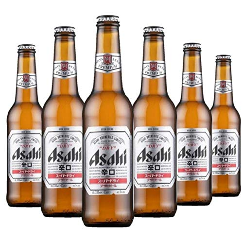 ASAHI BREWERIES Asiahi Super Dry 6 x 33 cl