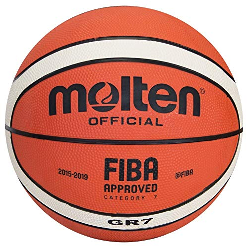 Molten Basketball, grün/schwarz, 7