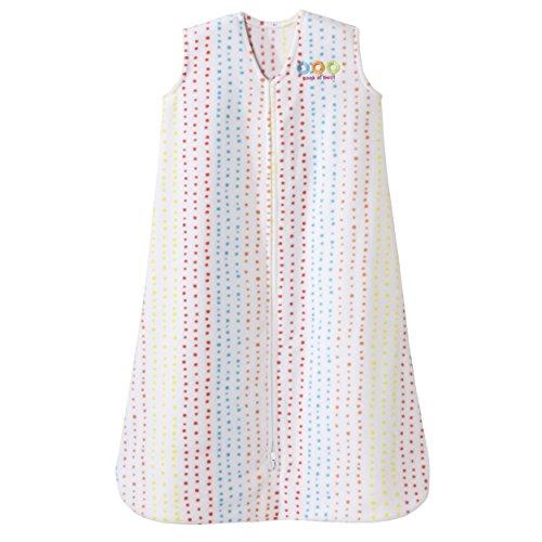 Halo Sleepsack Micro-Fleece Wearable Blanket, Multi Dots,...