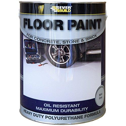 Everbuild FLOORGR Floor Paint 5L - Grey