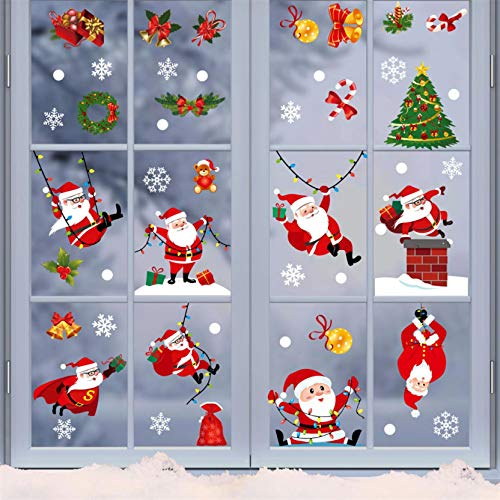 Sanyyanlsy Christmas Decoration Electrostatic Stickers...