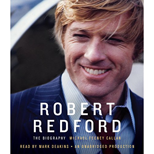 Robert Redford audiobook cover art