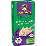 Annie's Red Lentil Spirals – White Cheddar, 5.5 oz