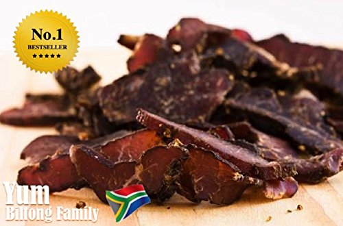 100g Biltong Chilli Piri-Piri, Real South African Style Biltong, EU\'s BEST Seller