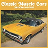 Classic Muscle Cars Calendar 2021-2022: April 2021 Through December 2022 Square Photo Book Monthly Planner Classic Muscle Cars small calendar.