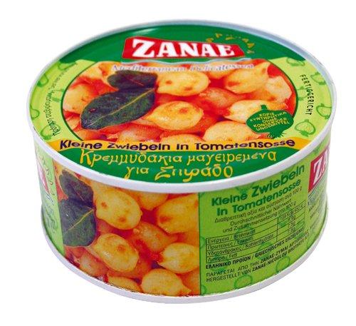 Zanae Kleine Zwiebeln in Tomatensoße, in Öl (1 x 280 g Packung)