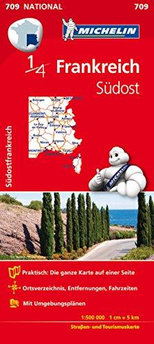 Preisvergleich Produktbild Michelin Südostfrankreich: Straßen- und Tourismuskarte Frankreich 1:500.000 (MICHELIN Nationalkarten)