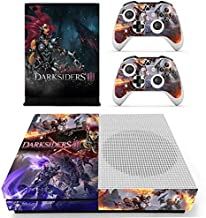 Anitee Xbox One S Console and 2 Controllers Skin Set - shooter game – Xbox One S Vinyl