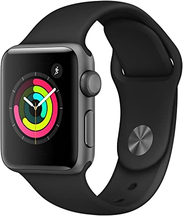 Apple Watch Series 3 (GPS, 38mm) - Space Gray Aluminium...