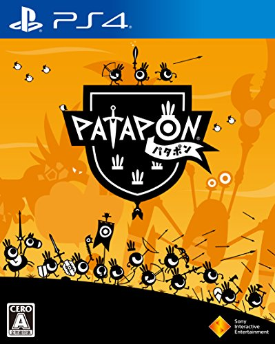 Patapon SONY PS4 PLAYSTATION 4 JAPANESE VERSION region free [video game]