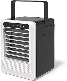 XXRUG Enfriador De Aire, Ventilador De Aire Acondicionado Mini Ventilador Personal Portátil Humidificador Nebulización Ventilador De Escritorio Circulador De Aire USB Oficina En El Hogar