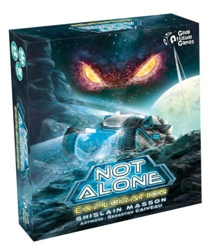 GM Games - Not Alone: Exploración Juego de cartas, GDM120