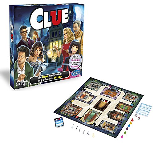 Jeu Clue Hasbro Article: A5826 - 1