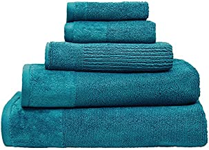 Bambury Costa Towel Range Bath Mat, Teal
