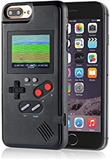 Color Display Video Game Case for iPhone 8 for Men Child Kids Boys, VOLMON Handheld Game Console Case for iPhone, Retro Ga...