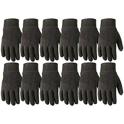 Wells Lamont Work Gloves, Jersey Basic, Wearpower, 12 Pair Pack (506LZ)