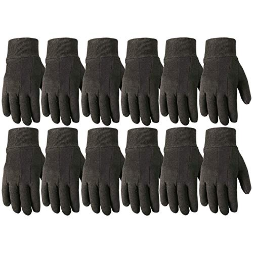 Wells Lamont Work Gloves, Jersey Basic, Wearpower, 12 Pair Pack (506LZ)