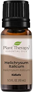 Plant Therapy Helichrysum Italicum Essential Oil 100% Pure, Undiluted, Natural Aromatherapy, Therapeutic Grade 10 mL (1/3 oz)
