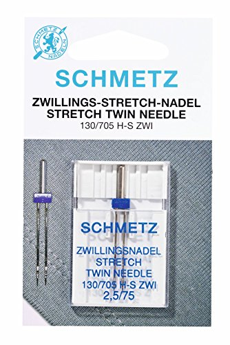 Schmetz Sewing Machine Stretch Twin Needle by Schmetz