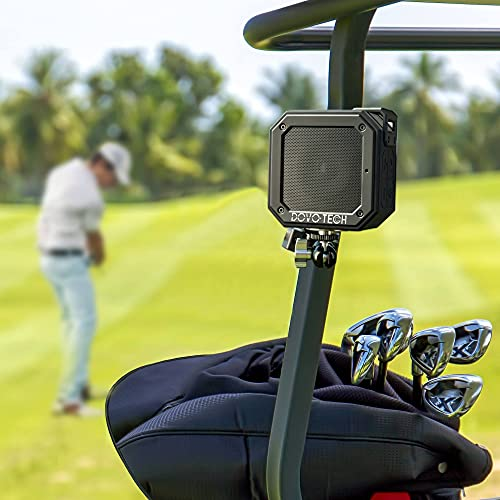 Golf Cart Speaker with Clamp Mount Accessories- Best Golf Gifts for Men Women with Super Bass- for Ezgo Club Car Golf...