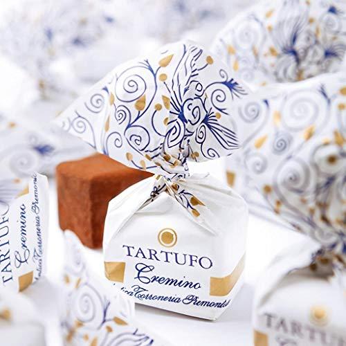 Antica Torroneria Piemontese Tartufo italienische Trüffelpralinen in verschiedenen Sorten 140 g Pralinen Trüffel Schokoladentrüffel (Tartufo cremino)