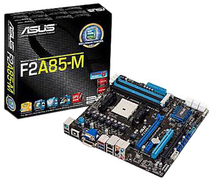 Asus 90-MIBJN0-G0EAY0GZ Mainboard Sockel FM2 (Micro-ATX, AMD A85X, 4X DDR3-Speicher, 7X SATA III, DVI, HDMI, 2X USB 3.0)