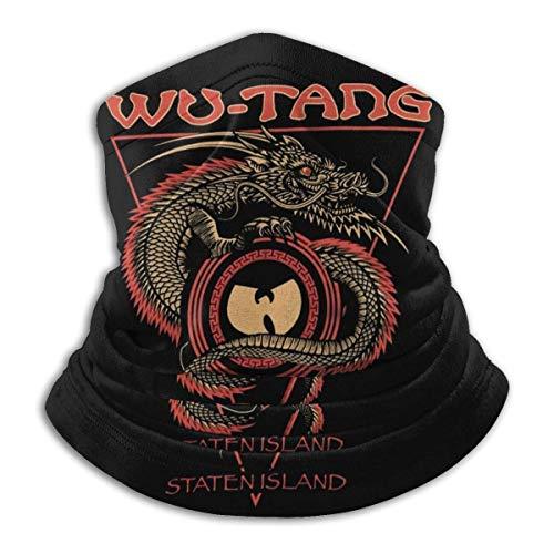 clásico Wu Tang Clan Unisex Cara Mas-k Bandanas Multifuncional Bufanda Cuello Polaina Pasamontañas
