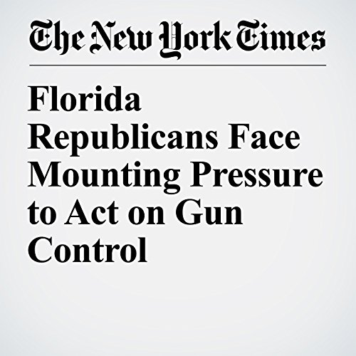Florida Republicans Face Mounting Pressure to Act on Gun Control audiobook cover art