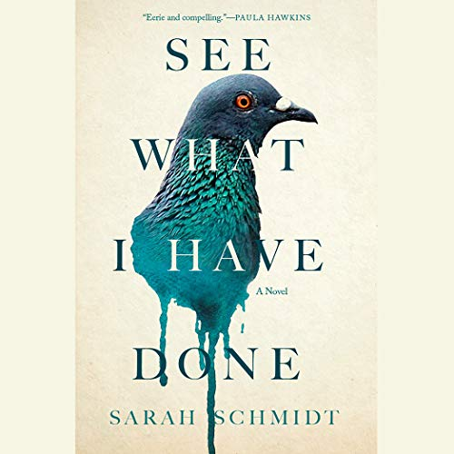 See What I Have Done                   By:                                                                                                                                 Sarah Schmidt                               Narrated by:                                                                                                                                 Jennifer Woodward,                                                                                        Erin Hunter,                                                                                        Garrick Hagon                      Length: 9 hrs and 44 mins     152 ratings     Overall 3.3