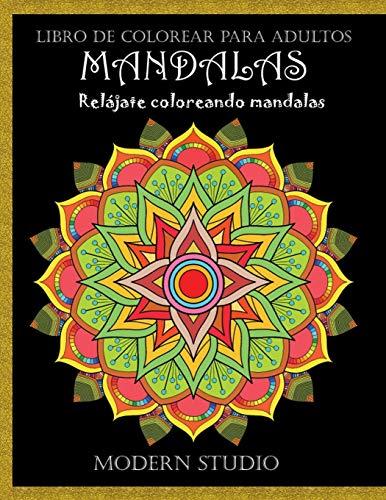 MANDALAS: Libro de colorear para adultos