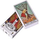 LHJY The Modern Witch Tarot Deck Guidebook Card Juego De Cartas De Mesa Magical Fate Adivinación...