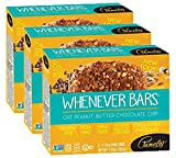 Pamela's Products Gluten Free Whenever Bars (Oat Peanut Butter Chocolate Chip, Pack - 3)