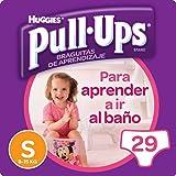Huggies Pull-Ups - Braguitas de aprendizaje para niñas, talla M (11-18 kg), 26 braguitas, Pack...