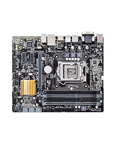 YLYWCG Placa Base de computadora Apta para ASUS B85M-G Plus DDR3 LGA 1150 i7 i5 i3 32g sata3 ubs3.0 b85 Placa Base de Escritorio