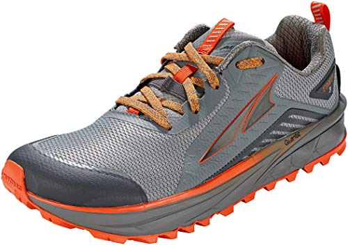ALTRA Men's AL0A4VQI TIMP 3 Trail Running Shoe, Gray/Orange...