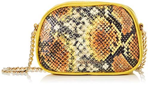 Marco Tozzi Mujer 2-2-61009-24 - Bolso bandolera (6 x 14 x 21 cm), color Amarillo, talla 6x14x21 cm (B x H x T)