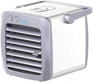 Efflum Mini Aire Acondicionado portátil El Ventilador de enfriamiento de Espacio Personal USB Trabajo y el Uso doméstico