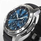 Ringke Bezel Styling Cover Compatibile con Samsung Galaxy Watch 46mm e Samsung Gear S3 Frontier, Custodia Acciaio Inossidabile - 46-01
