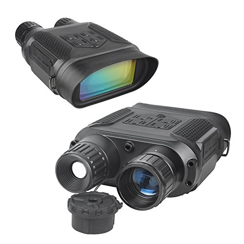 Bestguarder Jumelles De Vision Nocturne Binoculaire Numérique Scope pour La Chasse 7x31mm avec 2 Pouces TFT LCD HD Infrarouge Caméra Caméscope 400M Plage De Vision 5mp Photo & 640p Vidéo