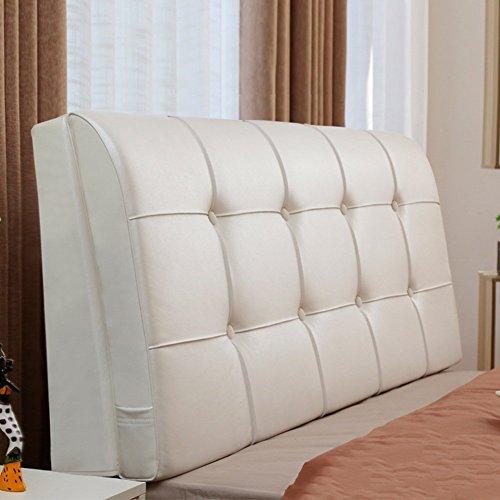 Kopfteil Nachttischpolster Doppelbett Multifunktions-Softcase mit großem Rücken, mit Kopfteil/ohne Kopfteil, 6 Farben, 7 Größen (Farbe: 1#, Größe: mit Kopfteil-200 cm)