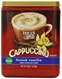 Hills Bros. Instant Cappuccino Mix, Decaf French...