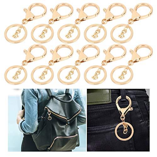 Bolso colgante llavero, llavero, retro para pulseras, llave, manualidades, joyería(Golden)